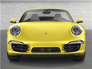 Предпросмотр porsche 911 carrera 4s cabriolet 2011 вид спереди