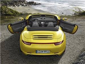 Предпросмотр porsche 911 carrera 4s cabriolet 2011 вид сзади
