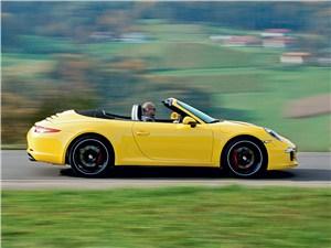 Предпросмотр porsche 911 carrera 4 cabriolet 2013 вид сбоку