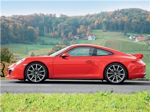 Предпросмотр porsche 911 carrera 4 2013 вид сбоку