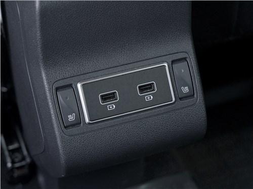 Renault Kaptur (2020) розетки