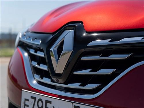 Renault Kaptur (2020) решетка радиатора