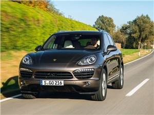 Porsche Cayenne S Diesel - Porsche Cayenne S Diesel 2013 вид спереди