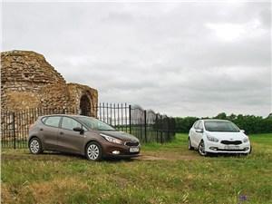 Предпросмотр kia cee'd 2012 в пробеге по южному уралу у могильника в степи 2