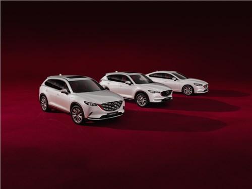 Mazda привезла в Россию особые автомобили
