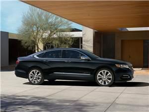 Chevrolet Impala - Chevrolet Impala 2013 вид сбоку