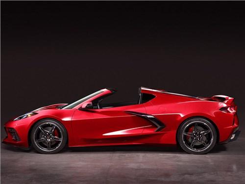 Chevrolet показал, как будет выглядеть родстер Corvette