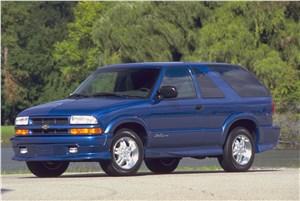 Предпросмотр chevrolet trailblazer 2001 трехдверный кузов