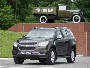 Chevrolet Tahoe - chevrolet trailblazer 2012 вид спереди