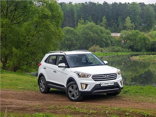 Hyundai Creta вновь занял лидирующую позицию в SUV-сегменте