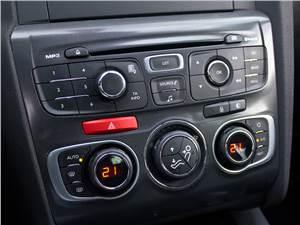 Citroen C4 2011 центральная консоль