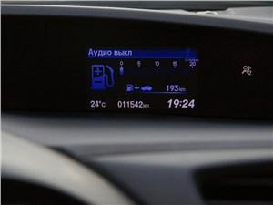Honda Civic 2012 экран бортового компьютера