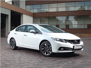 Honda Civic 2013 вид спереди