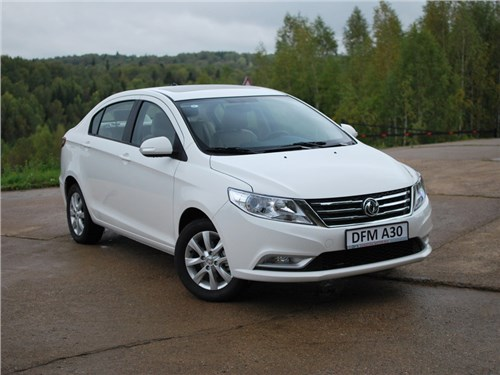 Dongfeng представил седан A30 для российского рынка
