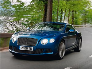 Bentley Continental GT Speed - bentley continental gt speed 2013 вид спереди