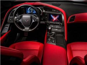 Предпросмотр chevrolet corvette stingray c7 2013 водительское место