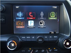 Предпросмотр chevrolet corvette stingray c7 2013 монитор компьютера