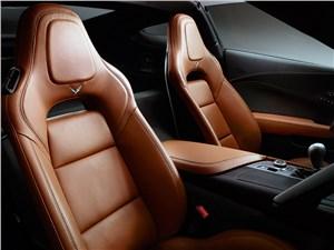 Chevrolet Corvette Stingray C7 2013 кресла