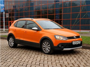 Volkswagen Cross Polo - volkswagen cross polo 2010 вид сбоку