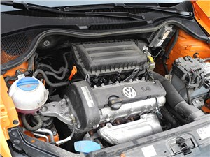 Volkswagen Cross Polo 2010 двигатель