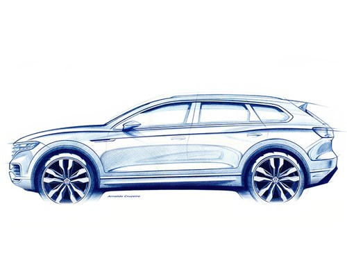 Volkswagen рассказал о новом Touareg