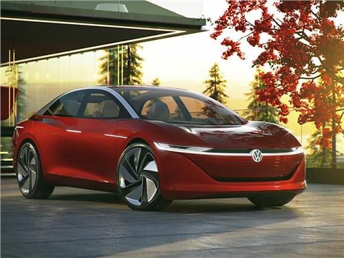 I.D. Vizzion: в Volkswagen показали представительский седан будущего