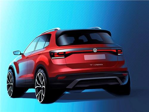 Самый маленький кроссовер Volkswagen: первая информация