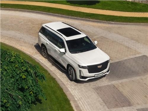 Cadillac Escalade (2021) вид сверху