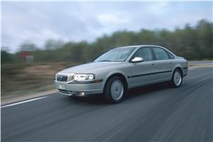 Предпросмотр volvo s80 2000 в динамике на шоссе фото 3