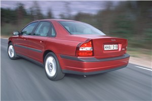 Предпросмотр volvo s80 2000 в динамике на шоссе фото 4