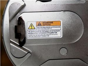 Предпросмотр mitsubishi i-miev 2009 предупреждение об опасности попадания воды на электроразъемы