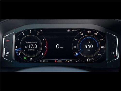 Volkswagen Teramont (2018) приборная панель