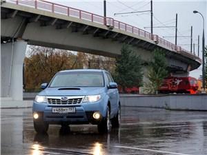 Subaru Forester S-edition вид спереди