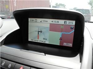 Предпросмотр opel zafira tourer 2012 пример работы системы навигации