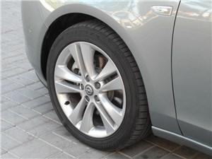 Предпросмотр opel zafira tourer 2012 штатные колеса