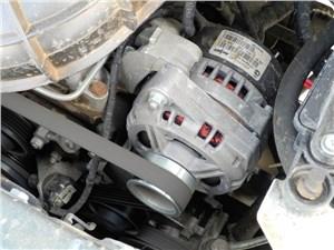 Предпросмотр chevrolet niva 2009 расположение генератора в моторном отсеке