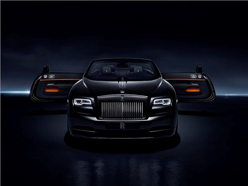 Новость про Rolls-Royce - Rolls-Royce Dawn Black Badge