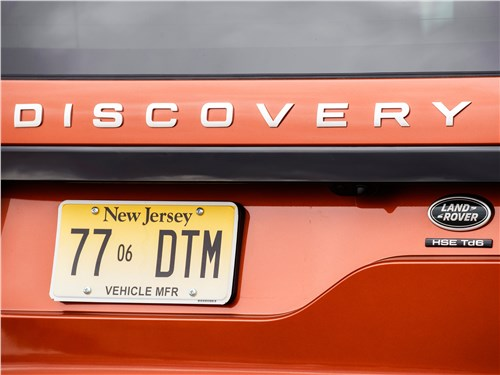 Land Rover Discovery 2017 задняя дверь