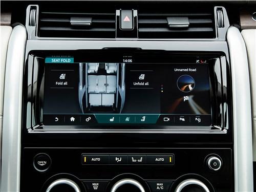 Land Rover Discovery 2017 монитор