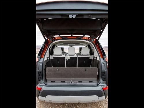 Предпросмотр land rover discovery 2017 багажное отделение