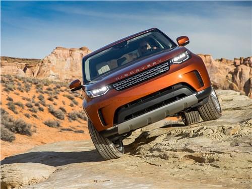 Предпросмотр land rover discovery 2017 вид спереди