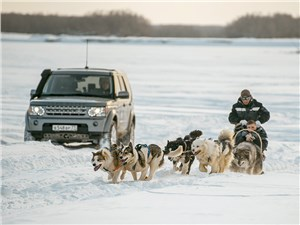 Экспедиция на Land Rover Discovery по Якутии