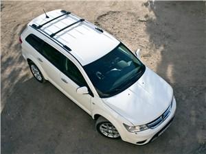 Dodge Journey 2011 вид сверху