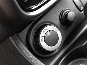 Renault Duster 2013 селектор управления полным приводом