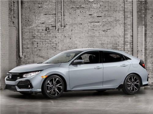 Honda представила серийную версию хэтчбека Civic