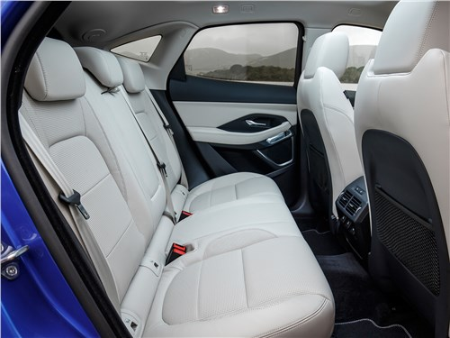 Jaguar E-Pace 2018 задний диван