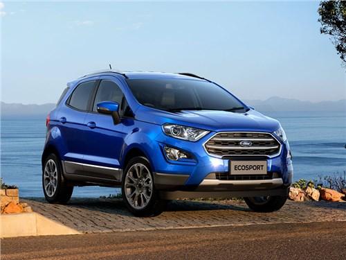 Ford рассказал про обновленный EcoSport для России