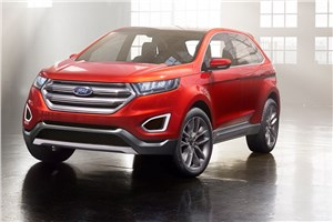 Ford поделился информацией о новом поколении кроссовера Edge