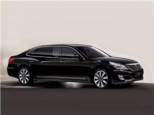 Новый Hyundai Equus - Hyundai Equus Limousine Security 2012 вид сбоку