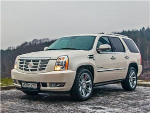 Cadillac Escalade - cadillac escalade 2006 вид спереди